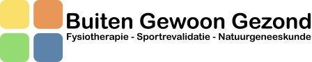 Logo Buiten geweoon Gezond