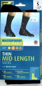 SEALSKINZ waterdichte sokken middel hoog-0