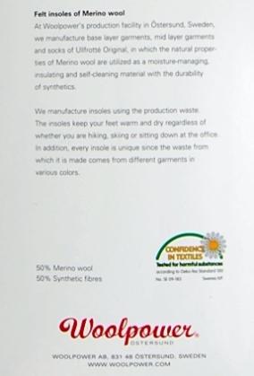 Woolpower Merino inlegzooltjes zero drop-7125