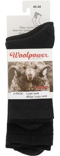 Woolpower 2 pack sock+liner-0