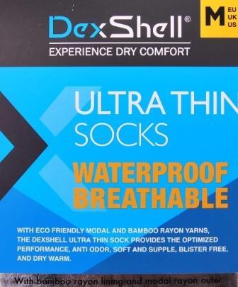 Dexschell waterdichte sokken middel hoog-10280